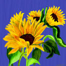 painted-sunflowers